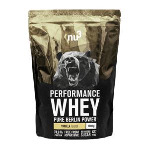 Nu3 Whey performance vanille