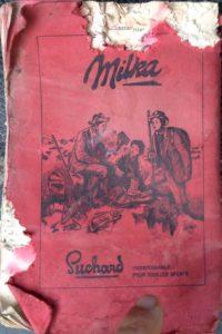 Milka chocolat ancienne publicité