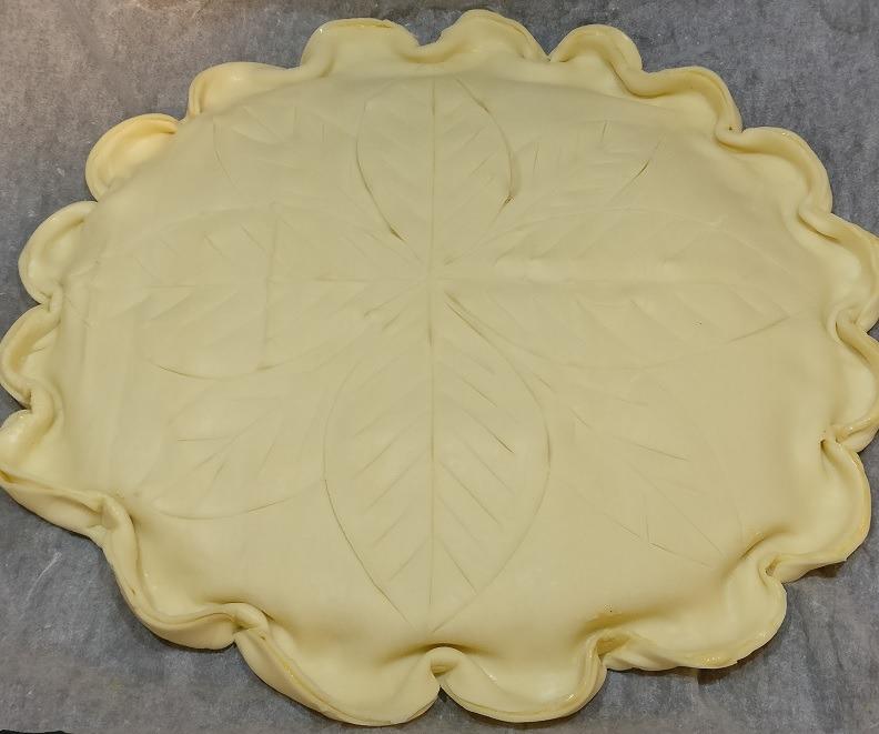 Galette des rois préparation pâte recette de Ben