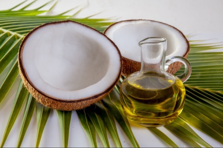 Infographie : huile de coco et de coprah