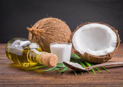L'huile de noix coco