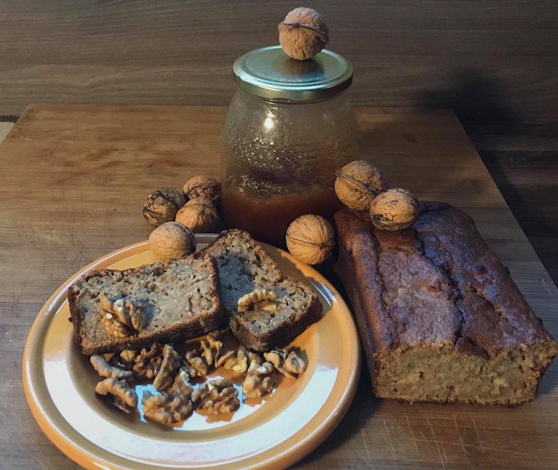 Cake aux noix de Camille