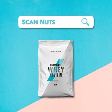 MyProtein Impact Whey Protein scannuts