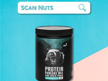 Nu3 pancakes protein mix