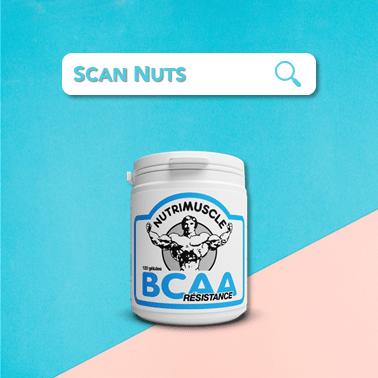Nutrimuscle complément résistance BCAA 2.1.2 : test-avis-score scannuts
