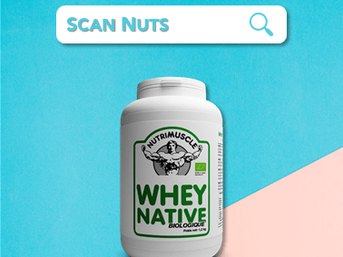 Nutrimuscle whey native biologique