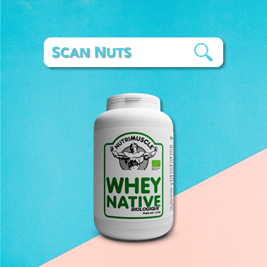 Nutrimuscle whey native biologique : test-avis-score scannuts