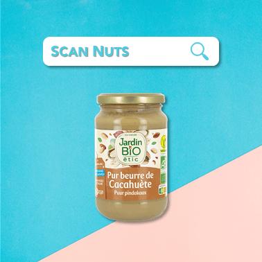 Jardin bio étic pur beurre de cacahuète : test-avis-score scannuts