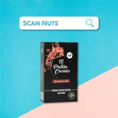 Nu3 fit protein crossies chocolat : test-avis-score scannuts