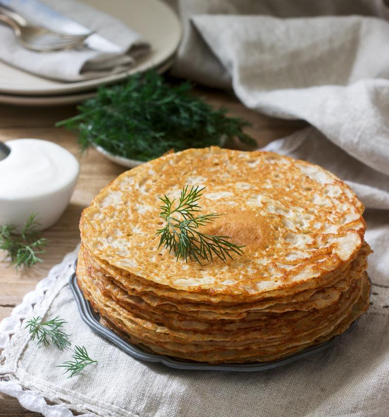 Petit déjeuner galette de sarrasin