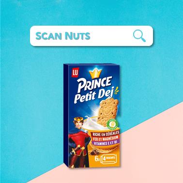 Lu prince petit dej scannuts