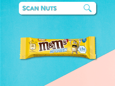 M&M's hiprotein bar