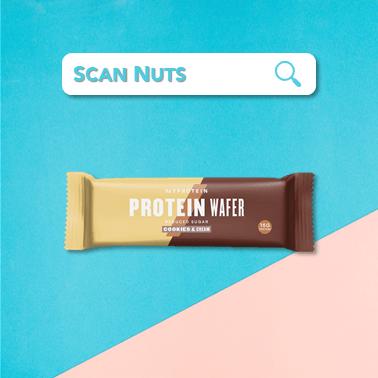 Myprotein protein wafer cookie cream : test-avis-score scannuts