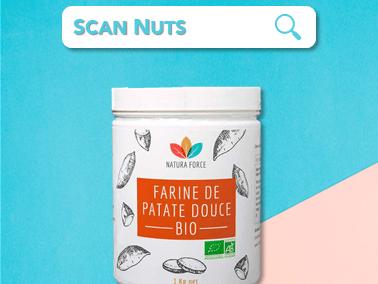 Natura force farine patate douce bio