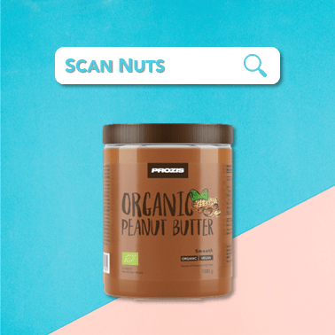 Prozis peanut butter organic : test-avis-score scannuts