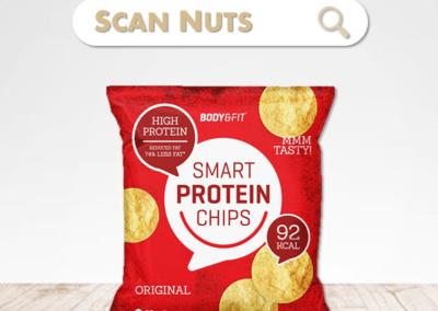 Body Fit smart protein chips : test-avis-score scannuts