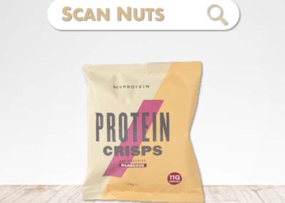 Myprotein protein crisps : test-avis-score scannuts