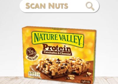 Nature valley protein peanut chocolate : test-avis-score scannuts