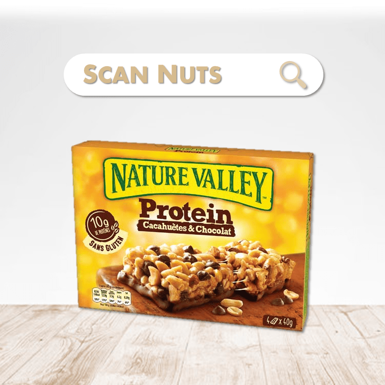 Nature valley protein peanut chocolate scannuts