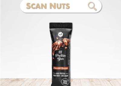 Nu3 fit protein bar chocolat : test-avis-score scannuts