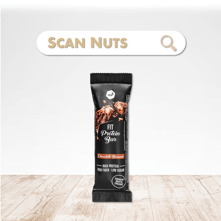 Nu3 fit protein bar chocolat scannuts