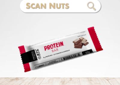 STC Nutrition protein bar chocolat : test-avis-score scannuts