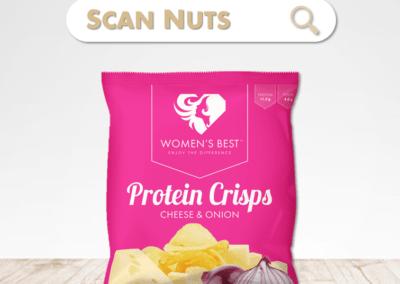 Women's best protein crips : test-avis-score scannuts
