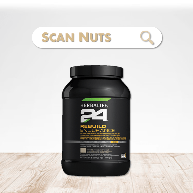 Herbalife 24 rebuild endurance scannuts