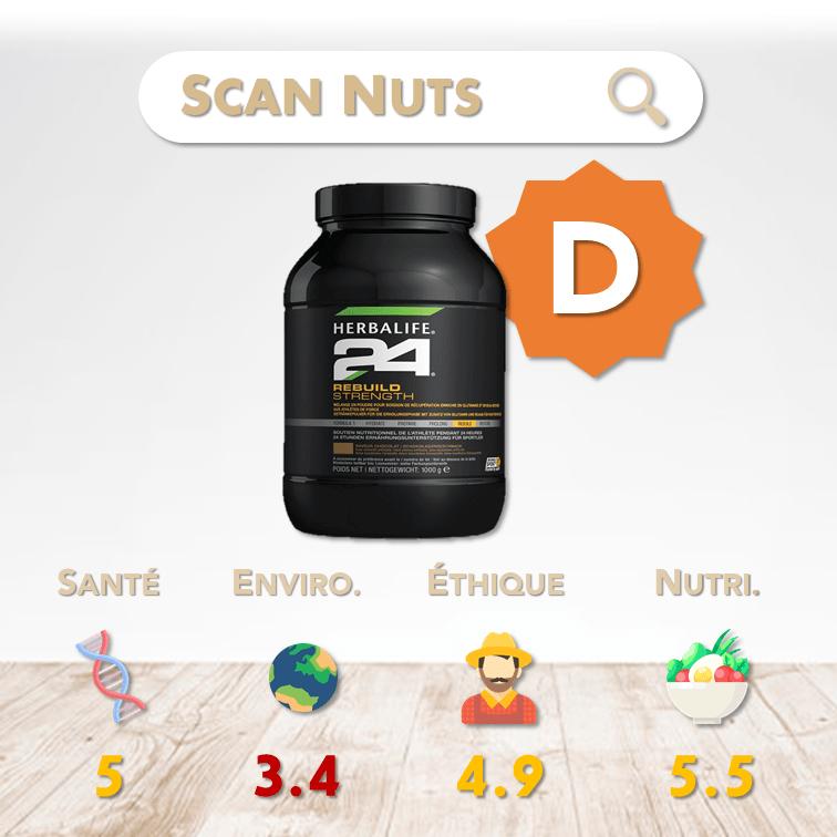 Herbalife 24 rebuild strength score scannuts