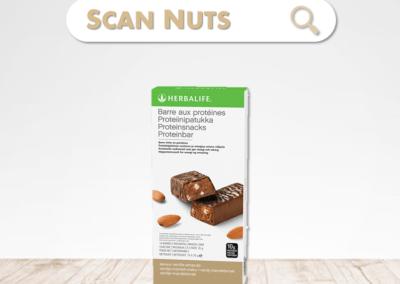 Herbalife barre aux protéines : test-avis-score scannuts