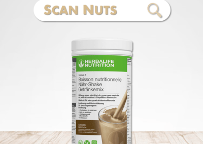 Herbalife boisson nutritionnelle cookie crunch : test-avis-score scannuts