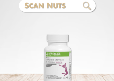 Herbalife complexe vitamines minéraux femme : test-avis-score scannuts