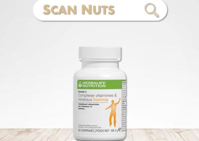 Herbalife complexe vitamines minéraux homme : test-avis-score scannuts