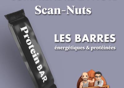 Barres énergétiques et protéinées : infographie