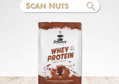 Inshape nutrition whey protein chocolat : test-avis-score scannuts