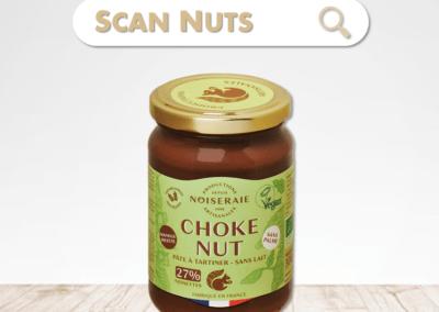 Noiseraie choke nut pâte à tartiner : test-avis-score scannuts