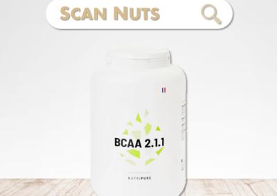 Nutripure bcaa 2.1.1  : test-avis-score scannuts