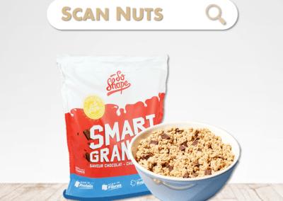 So shape smart granola chocolat : test-avis-score scannuts