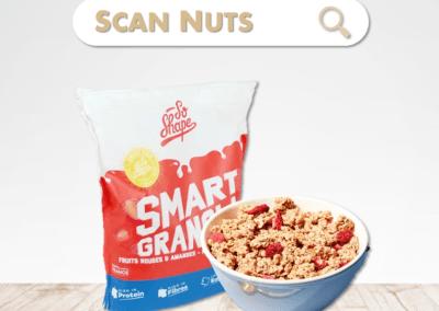 So shape smart granola fruits rouges : test-avis-score scannuts