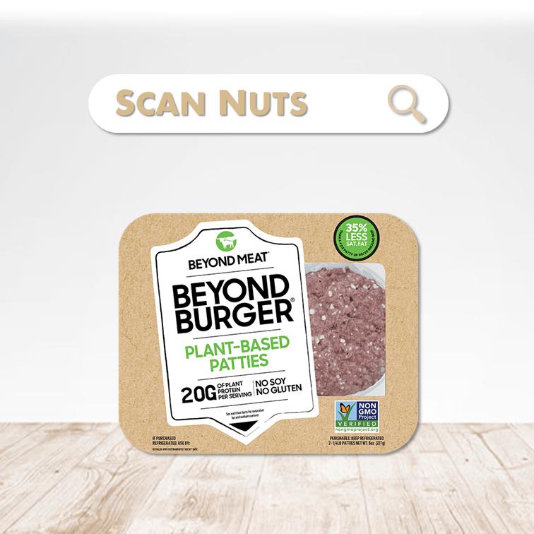 Beyond Meat beyond burger scannuts