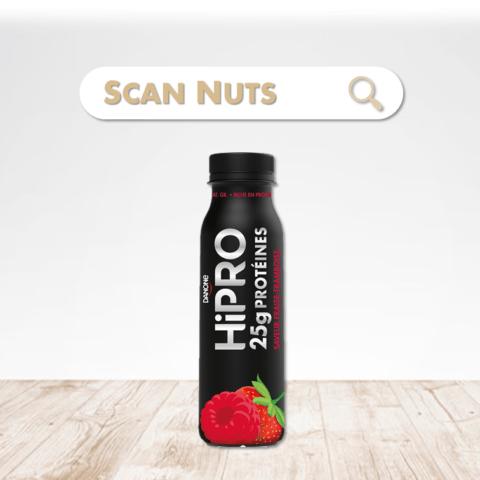 Danone Hipro fraise framboise : test-avis-score scannuts ...