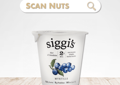 Siggi's skyr myrtille : test-avis-score scannuts