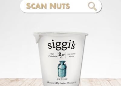 Siggi's skyr nature : test-avis-score scannuts