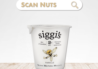 Siggi's skyr vanille : test-avis-score scannuts
