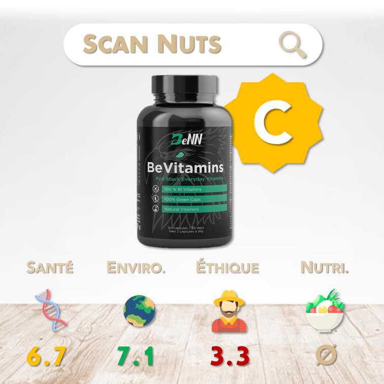 BeNN Bevitamins score scannuts
