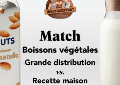 Boissons végétales : infographie