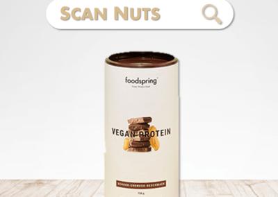 Foodspring® vegan protein peanut chocolat