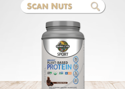 Garden of Life chocolate protein organic plant based sport