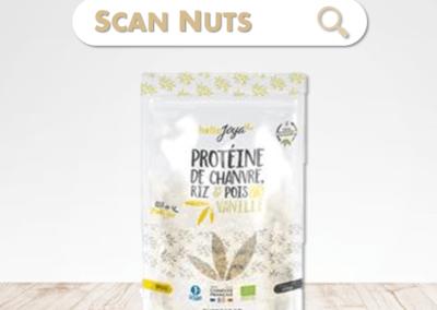 HelloJoya protéines vanille chanvre riz pois bio
