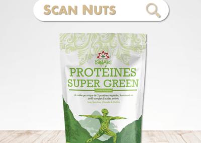 Iswari protéines super green bio